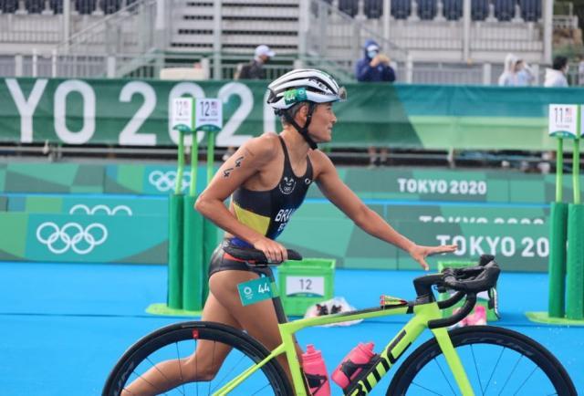 Tokio 2020: La tricolor Elizabeth Bravo quedó fuera del triatlón olímpico