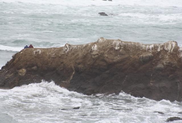 Salinas: Aguaje retuvo a turistas en islote