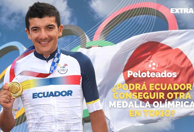 Programa Peloteados: ¿Podrá Ecuador conseguir otra medalla olímpica en Tokio?