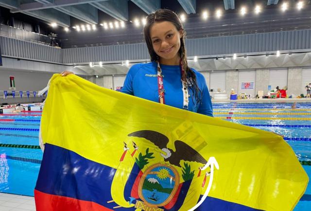 Anicka Delgado, el segundo intento de medalla será en 50 metros