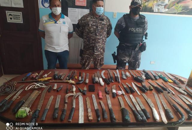 Sucumbíos: Armas y trago devolvieron en la cárcel