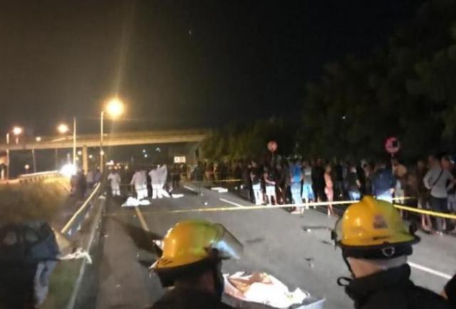 Seis personas fallecieron al ser arrolladas por un vehículo en Colombia