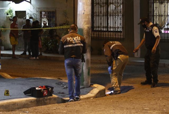 'Lluvia' de balas en el sur de Guayaquil